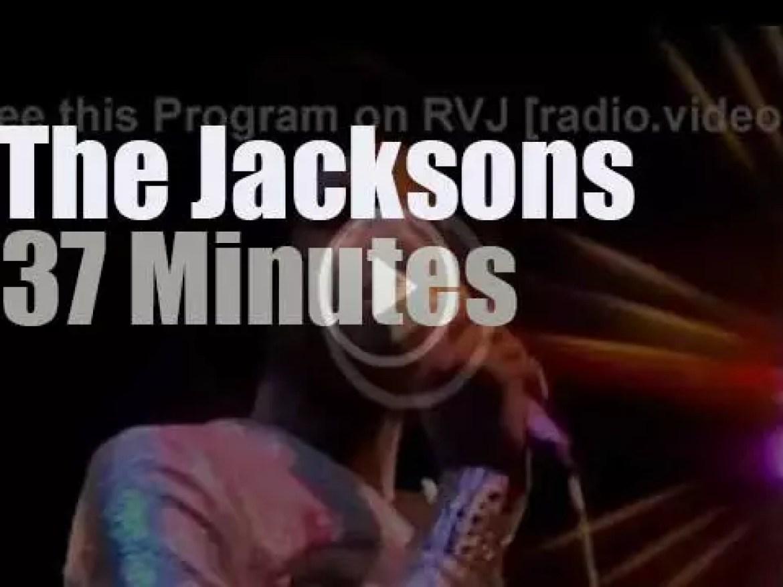 The Jacksons take their Destiny to London (1979)