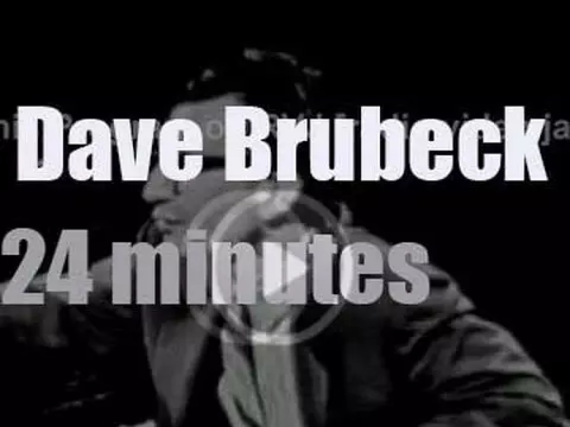 Tonight on TV, Dave Brubeck and quartet are at 'Music Showcase' (1956)
