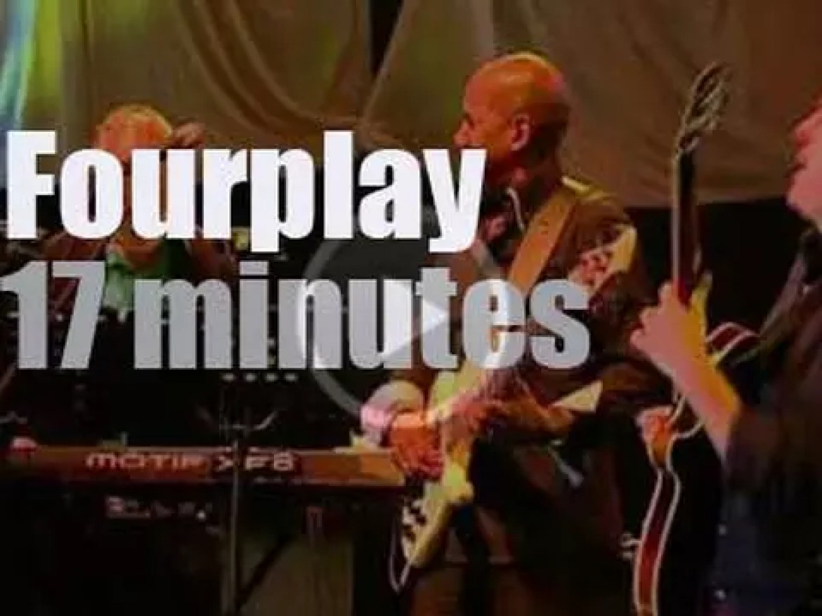 Fourplay are in Jakarta for the Java Jazz Festival (2011)
