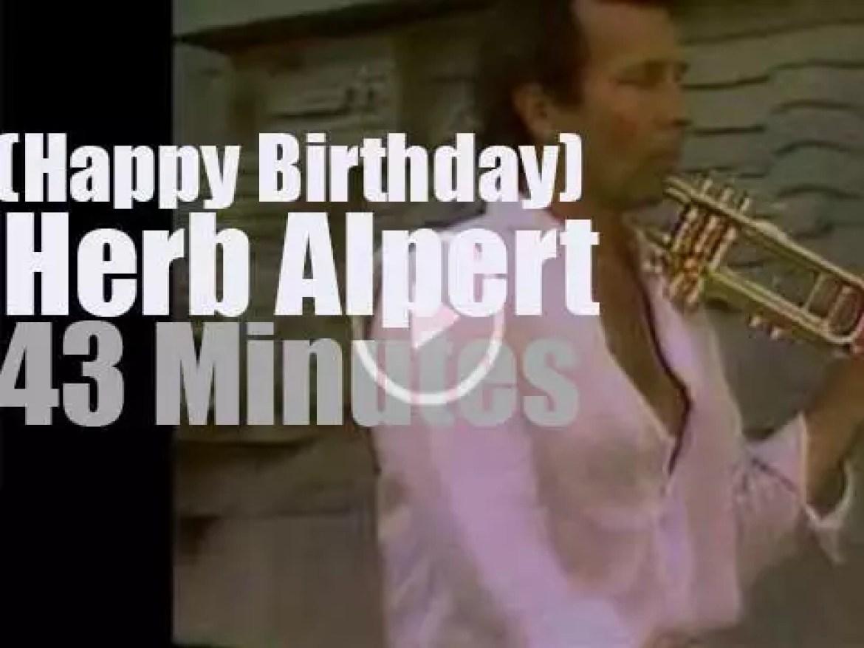 Happy Birthday Herb Alpert