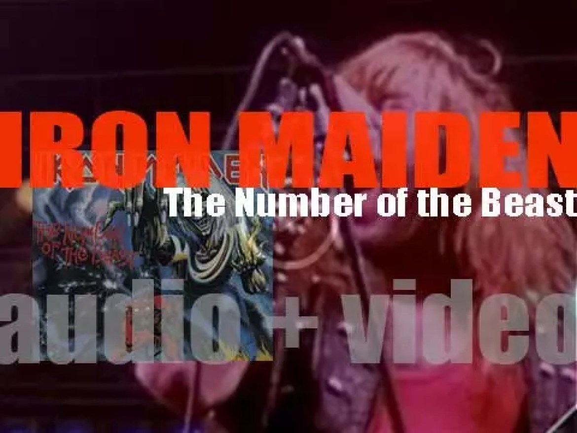 EMI publish 'The Number of the Beast,' the first Iron Maiden album with singer Bruce Dickinson (1982)