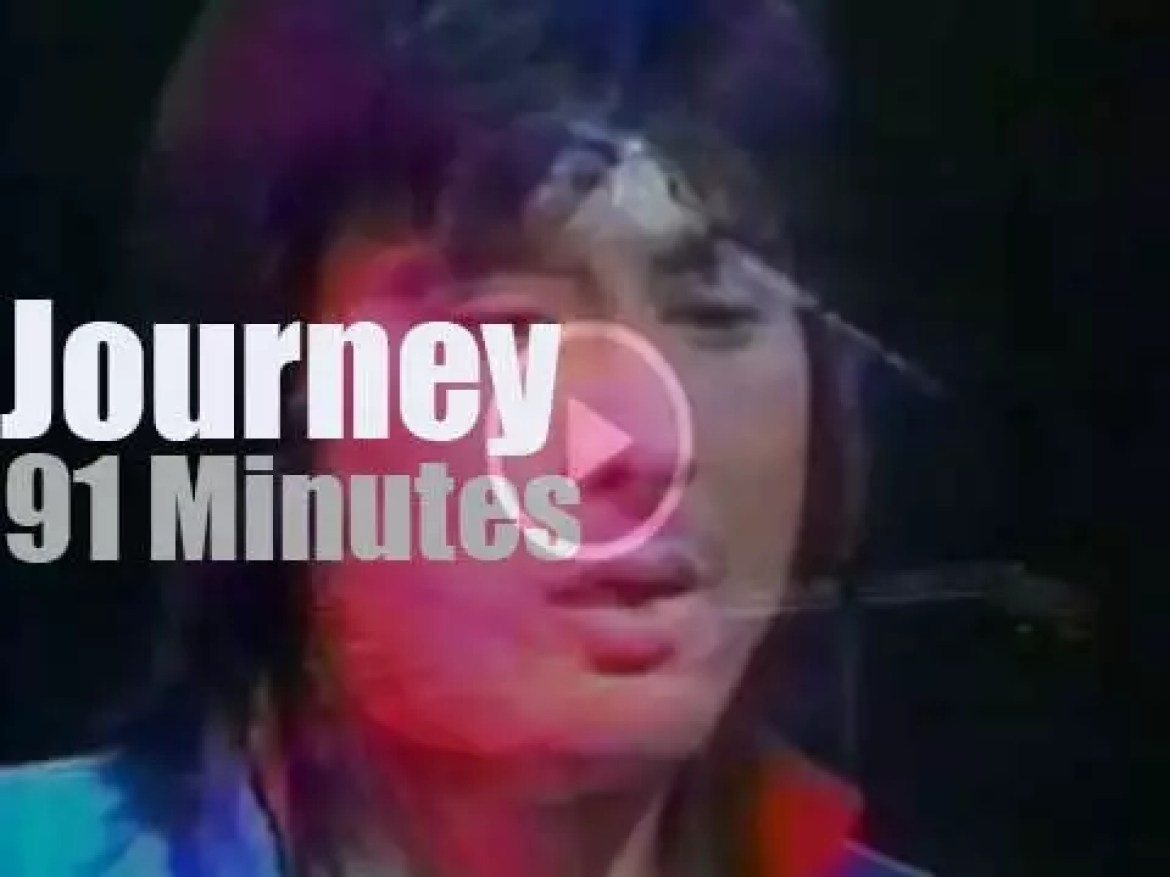 Journey spend a second night at The Budokan in Tokyo (1983)