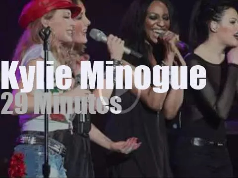 Kylie Minogue visits London (2012)