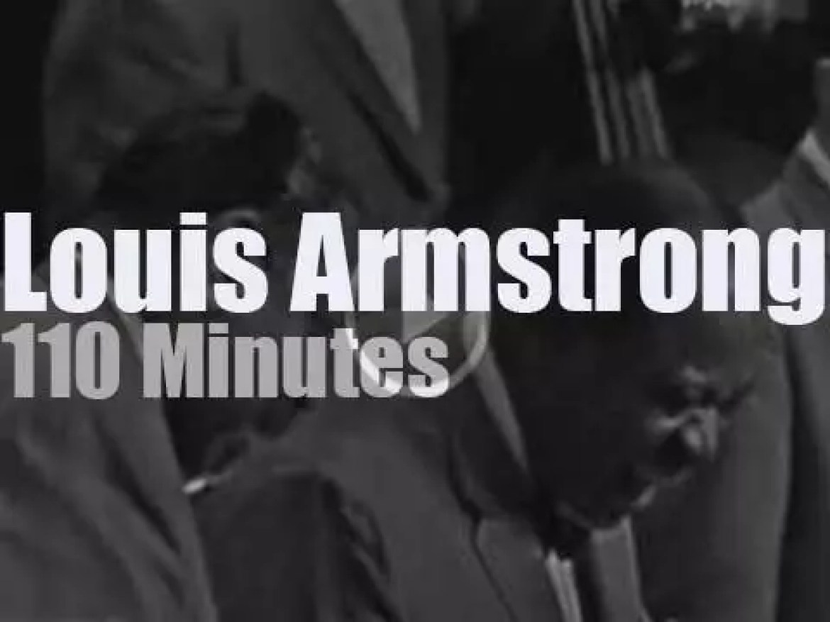 Louis Armstrong takes his All Stars to East Berlin (1965)