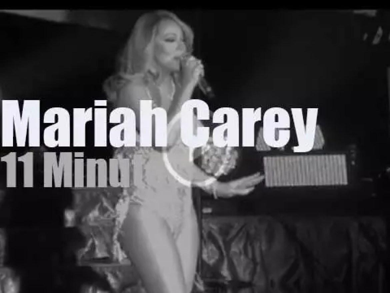 Mariah Carey sings in Cardiff, Wales (2016)