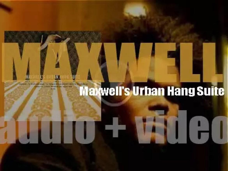 Maxwell releases 'Maxwell Urban Hang Suite,' his debut concept-album via Columbia (1996)
