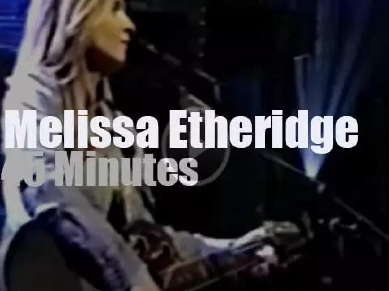 Melissa Etheridge meets Bruce Springsteen in Brooklyn (1995)
