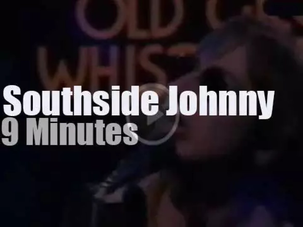 On English TV today, Southside Johnny at OGWT (1977)