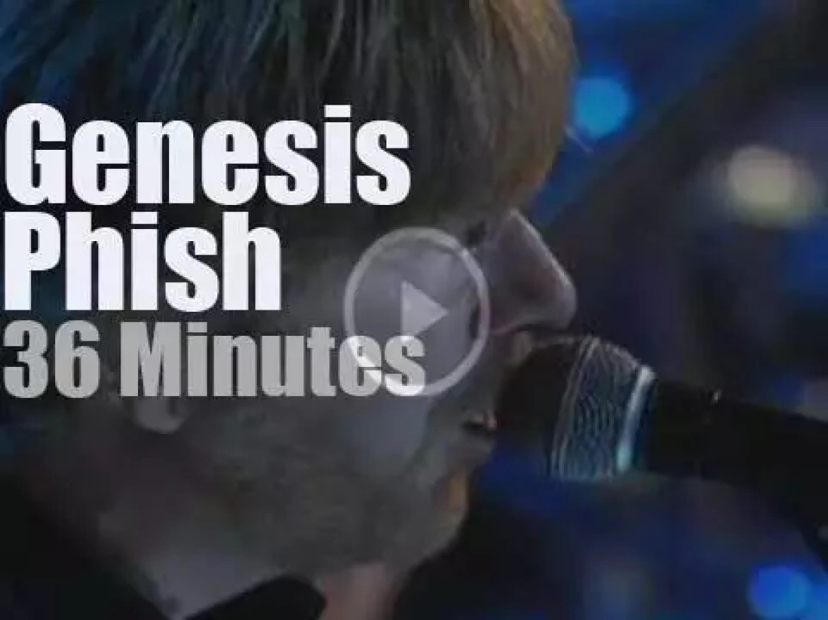 Phish induct Genesis at the Rock & Roll Hall of Fame (2010)