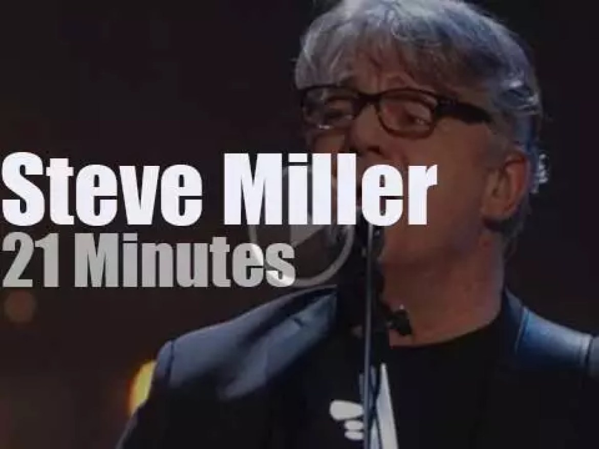 Steve Miller, Rock and Roll Hall Of Fame inductee (2016)