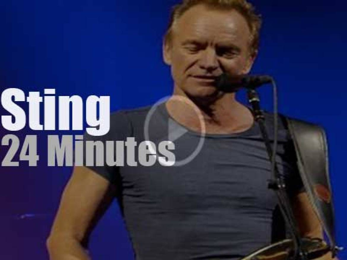 Sting & Band perfom in Zurich (2017)