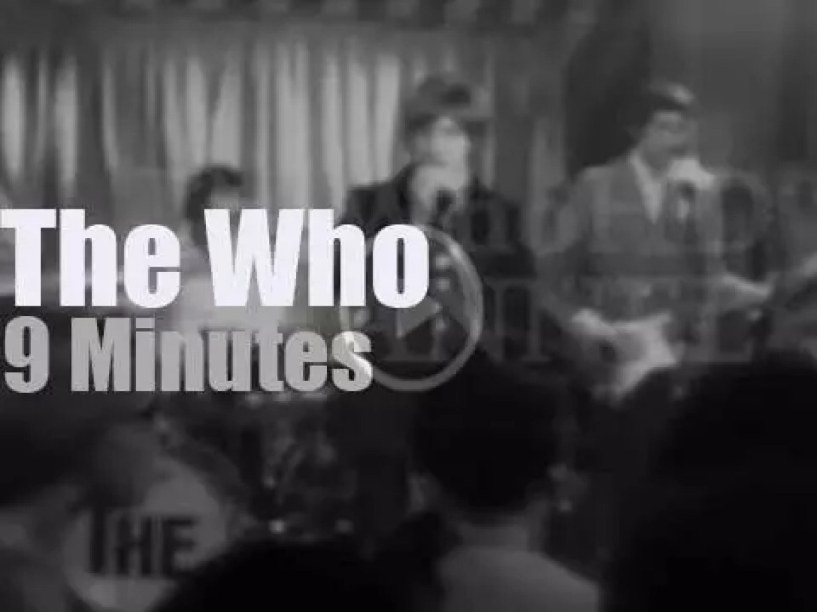 The Who rock the Marquee Club in London (1967)