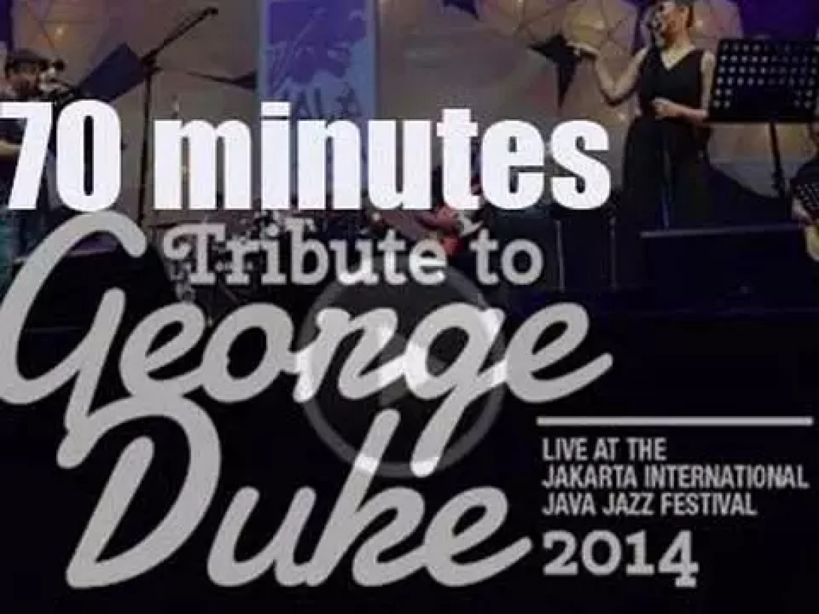 Various artists pay tribute to George Duke at Java Jazz Festival in Jakarta (2014)