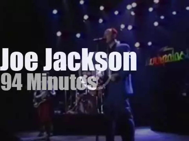 German television tapes Joe Jackson in Essen (1983)