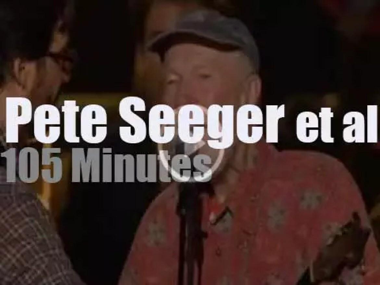Joan, Bruce et al celebrate Pete Seeger 90th birthday (2009)