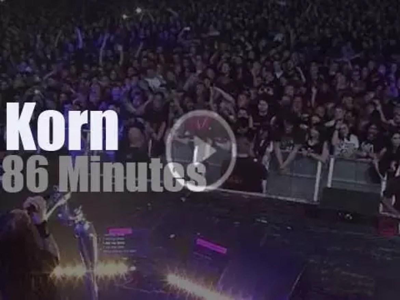 Korn serenade London (2014)