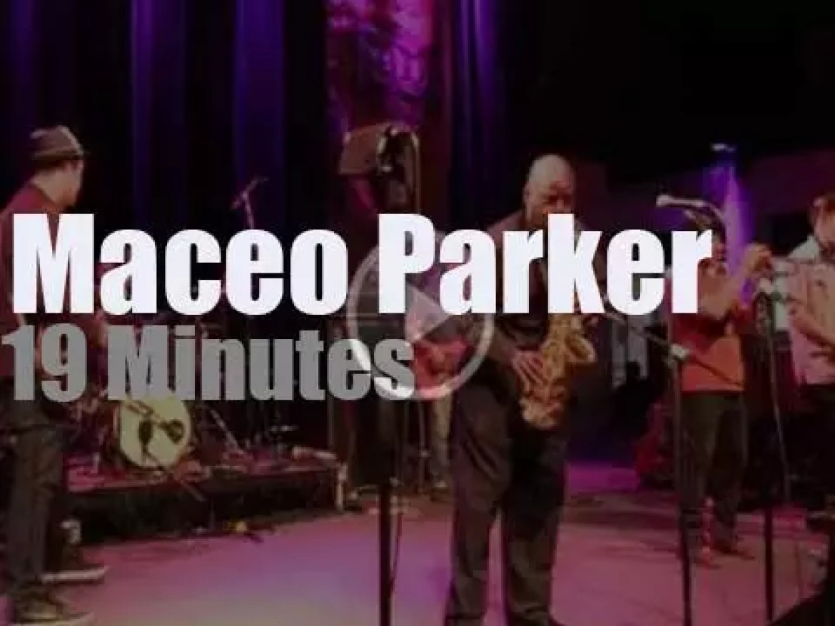 Maceo Parker & Friends funk in New Orleans (2014)