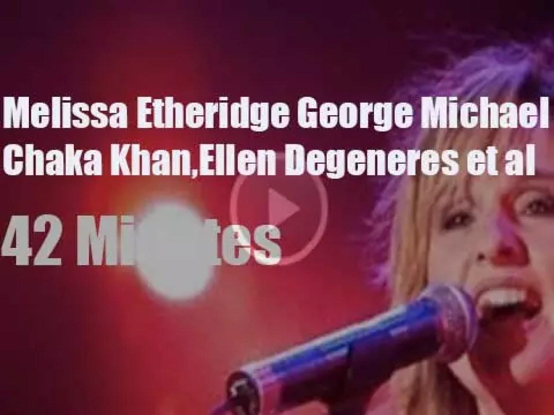 Melissa, George, Ellen et al rock for Equality (2000)