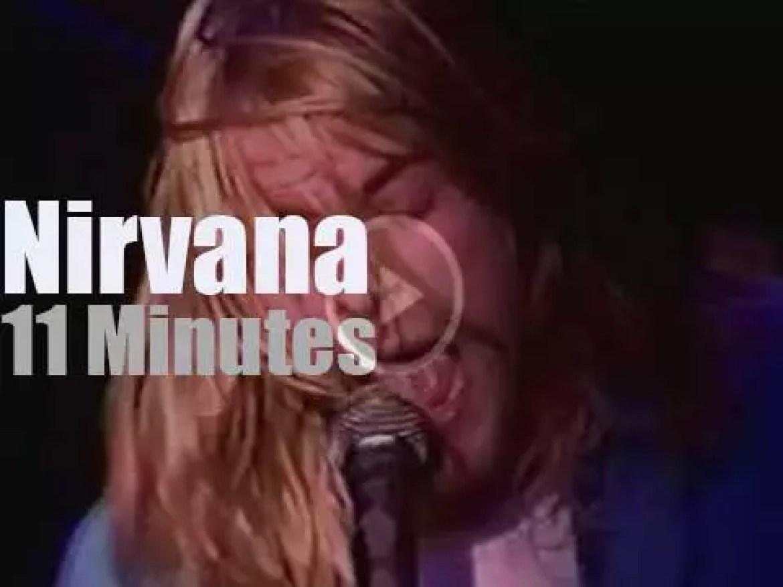 Nirvana serenade Montréal (1990)