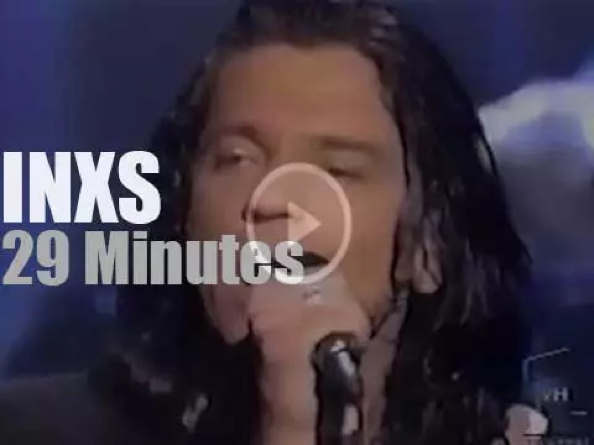 On TV today, INXS at VH1 'Hard Rock Live' (1997)