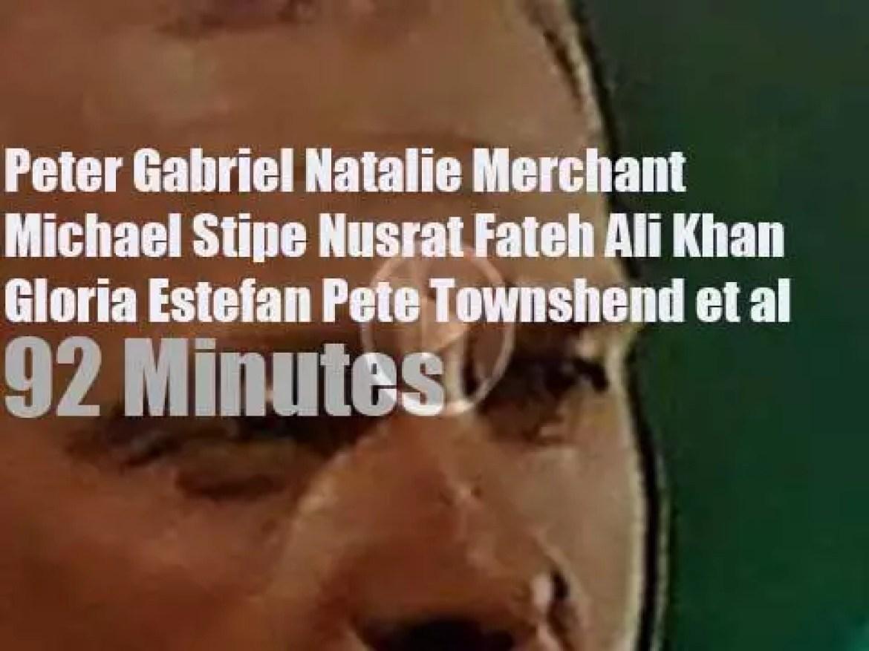 Peter, Michel, Nusrat et al celebrate the witnesses (1996)