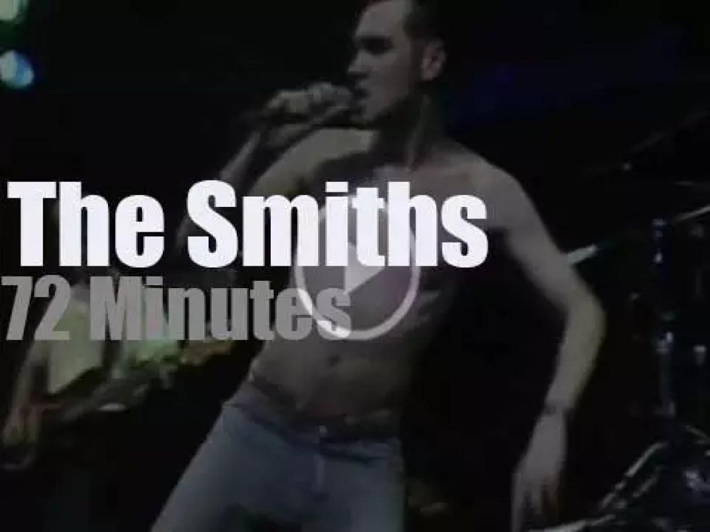 The Smiths go to Hamburg, Germany (1984)