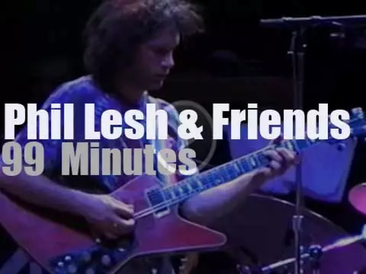 Trey Anastasio joins Phil And Friends (1999)