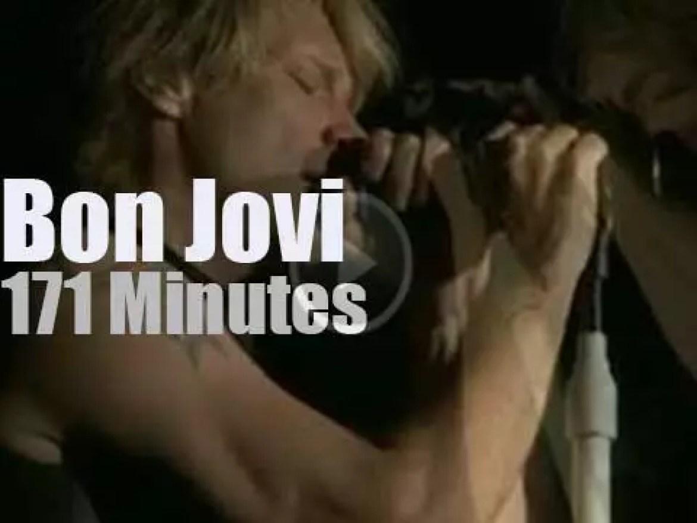 """Bon Jovi """"Rock in Rio"""" but in Madrid (2010)"""