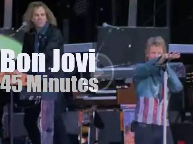 Bon Jovi travel to Finland (2013)