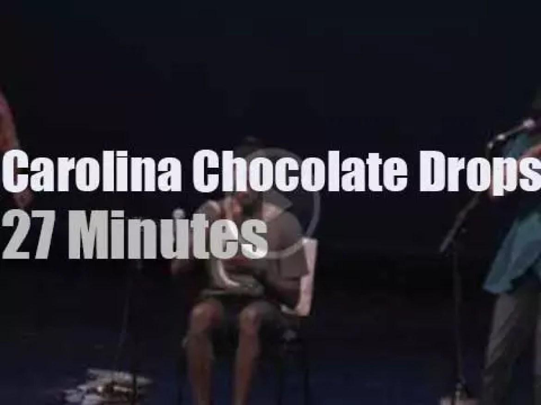 Carolina Chocolate Drops entertain a museum (2010)