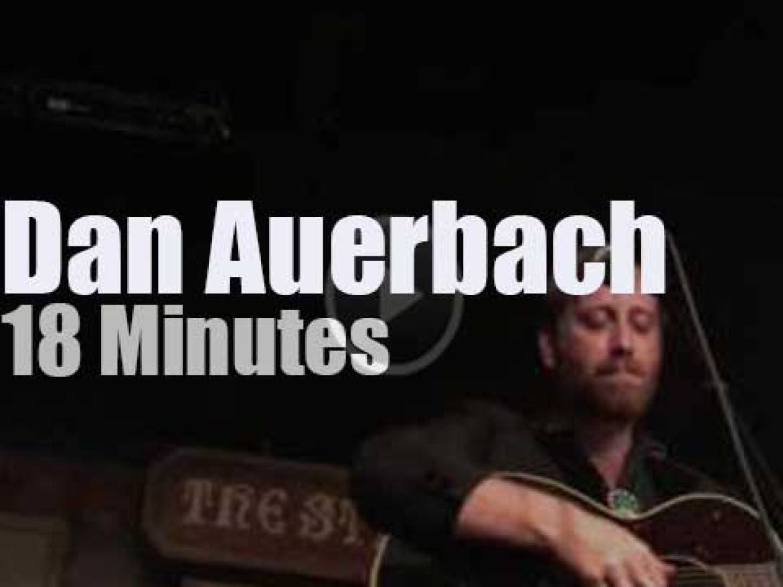 Dan Auerbach launches his new album in Nashville (2017)