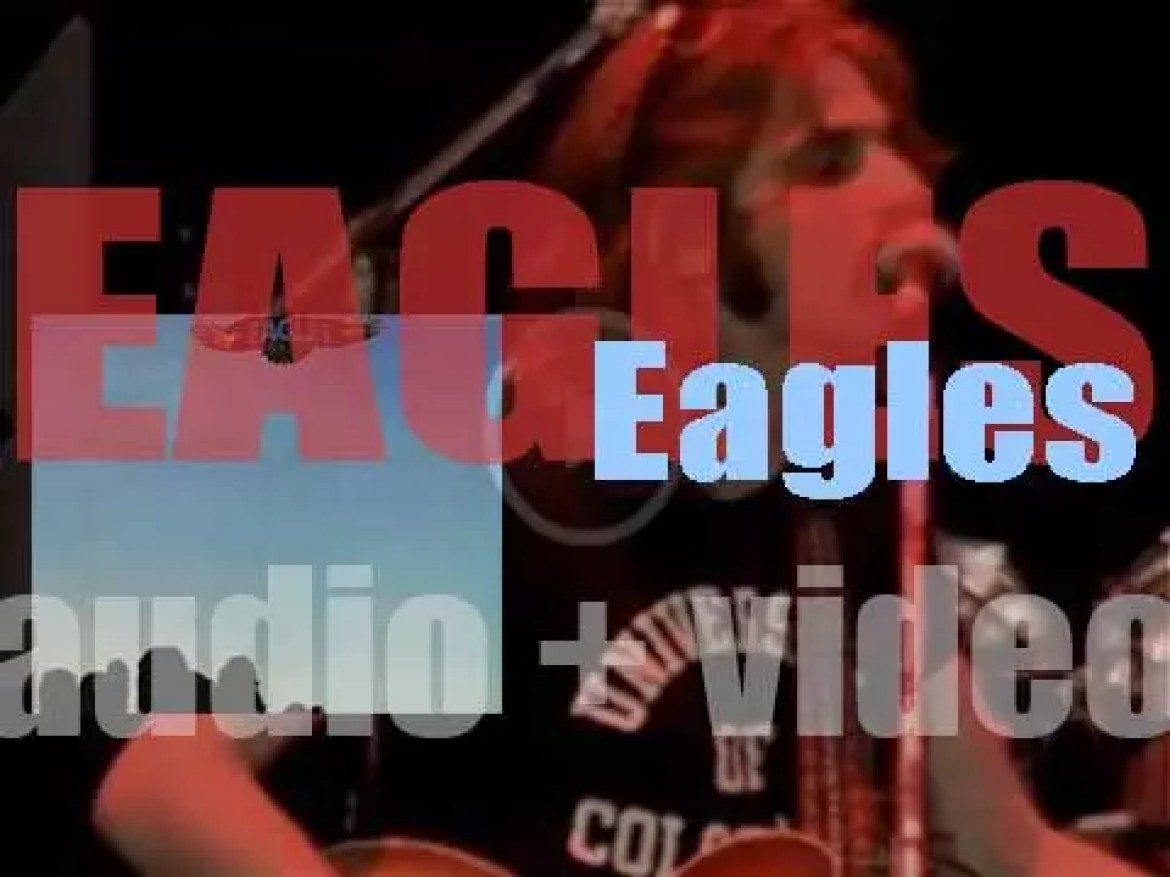 Asylum publish 'Eagles' first album recorded in London and featuring 'Take It Easy' (1972)
