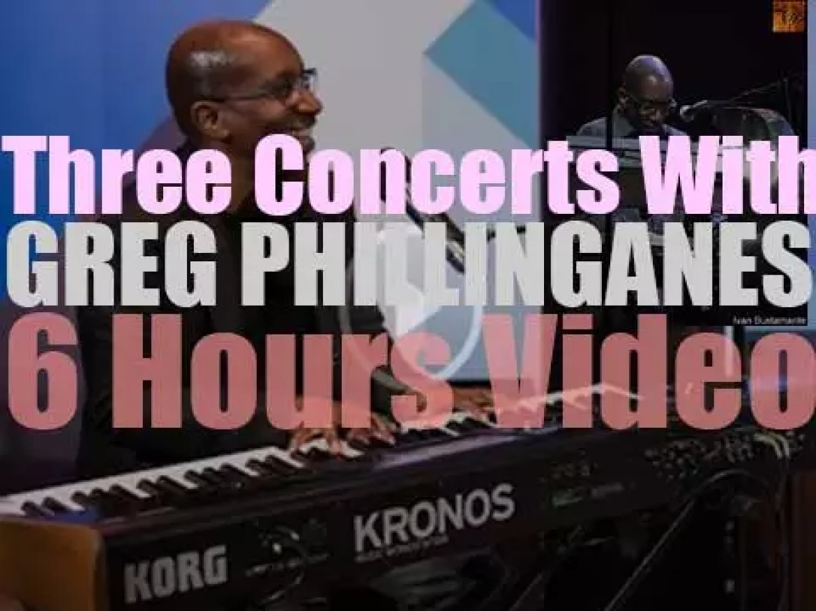 Three Concerts with Greg Phillinganes