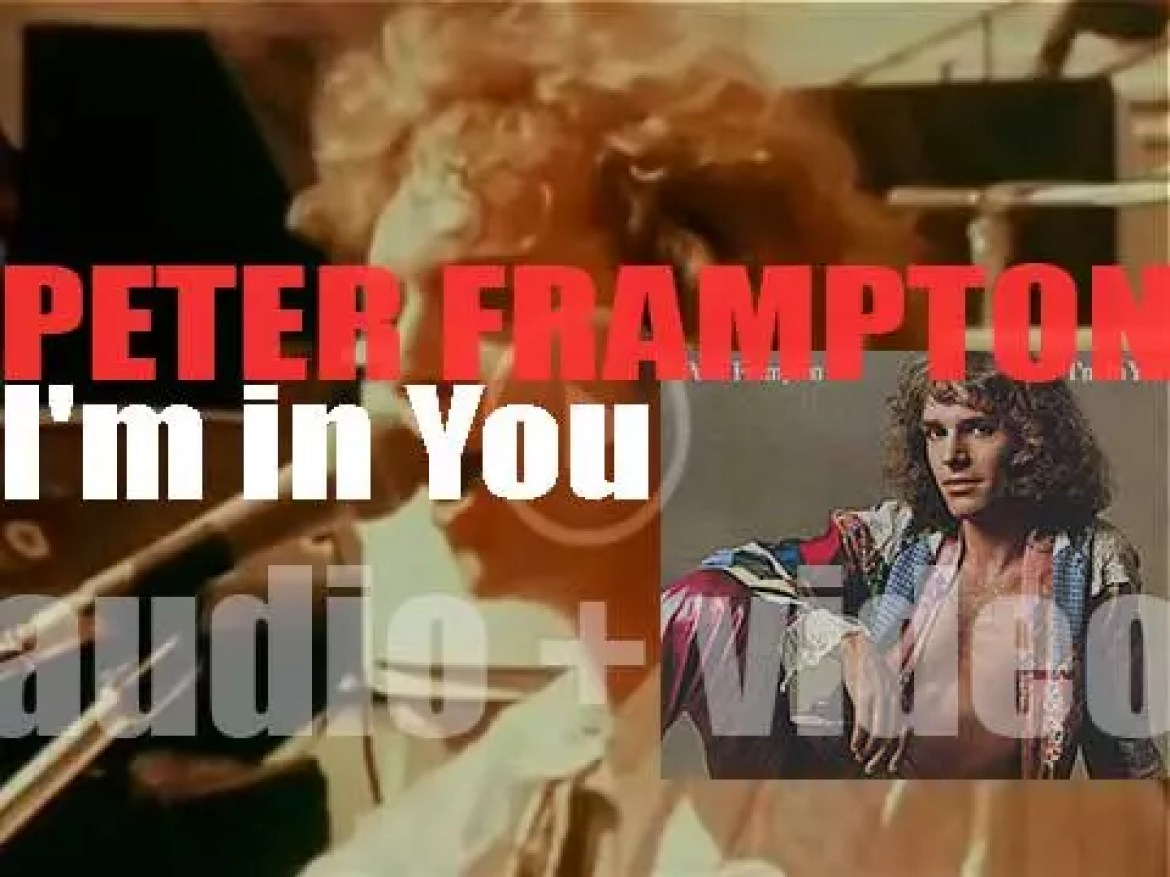 A&M publish Peter Frampton's 'I'm in You,' his fifth album (1977)