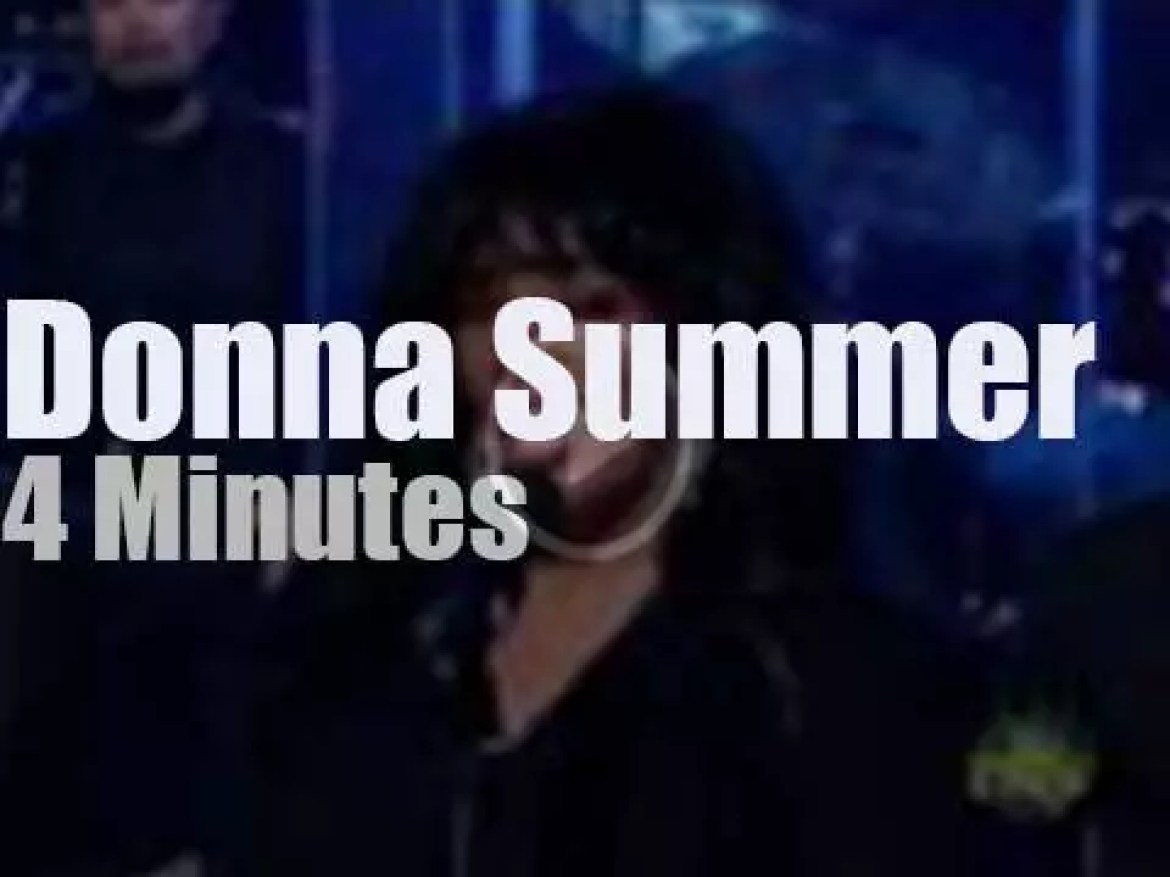 On TV today, Donna Summer with David Letterman (2008)