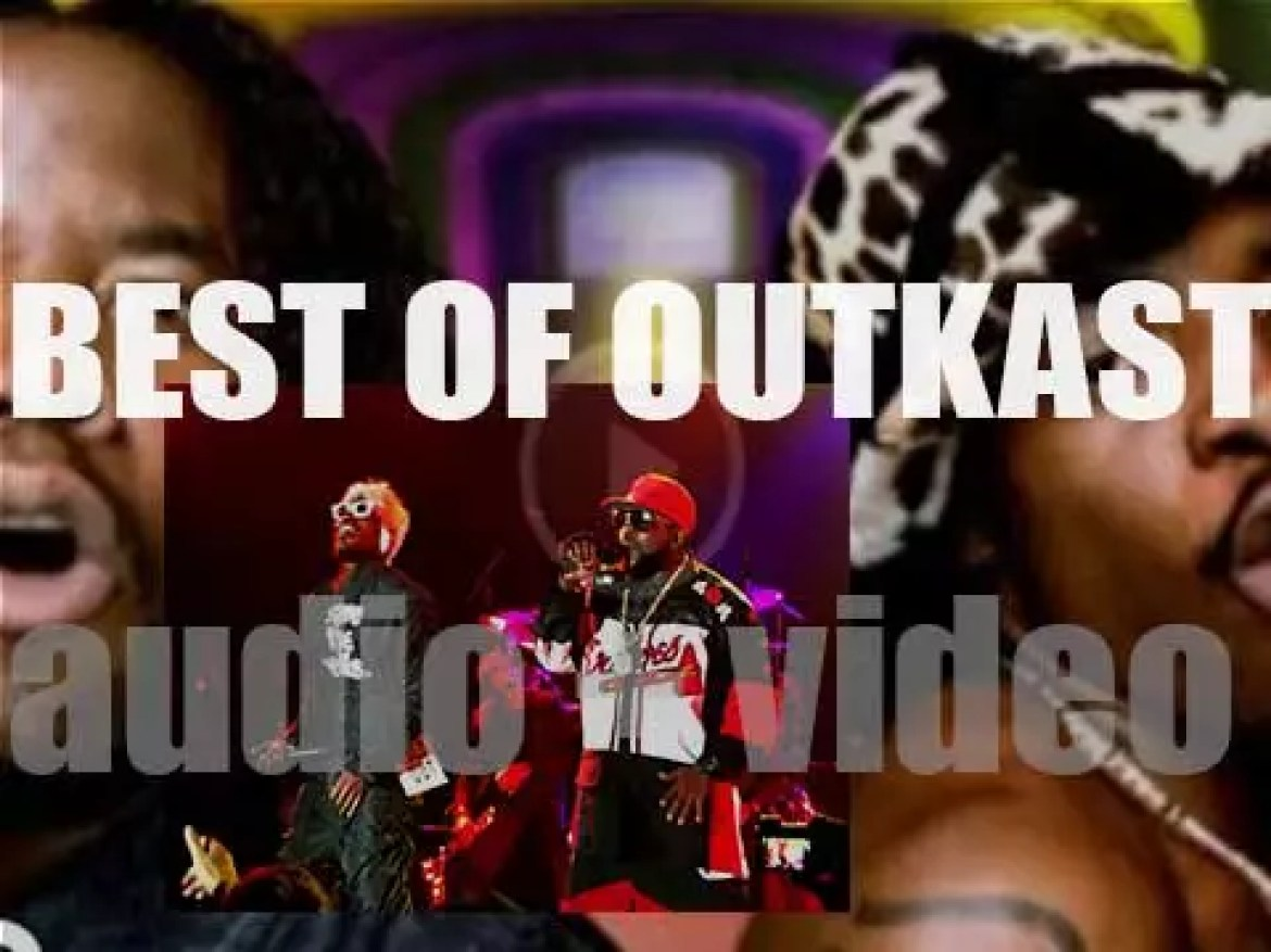 Happy Birthday Andre 3000. The perfect day for a 'OutKast At Their Bests' post