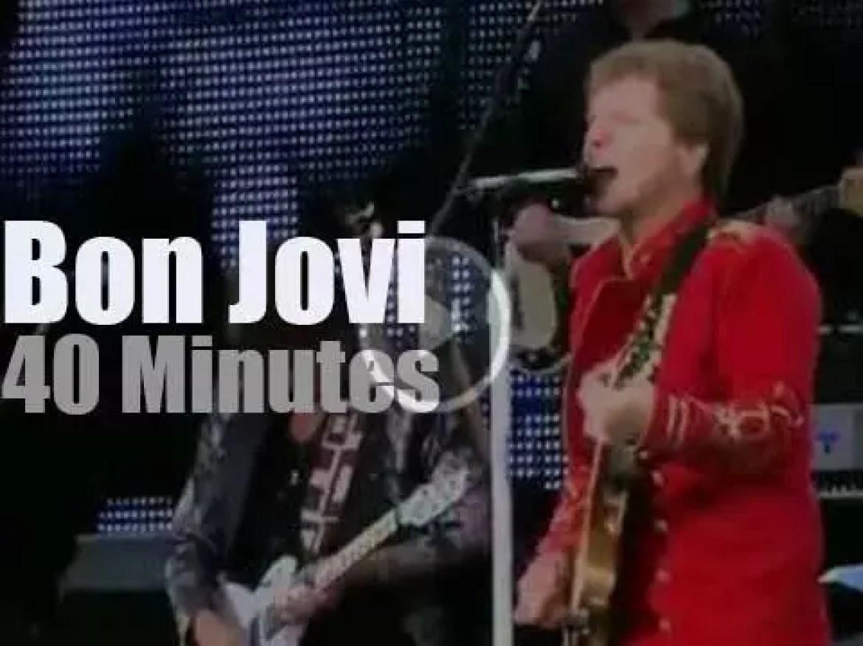 Bon Jovi rock the Munich stadium (2011)