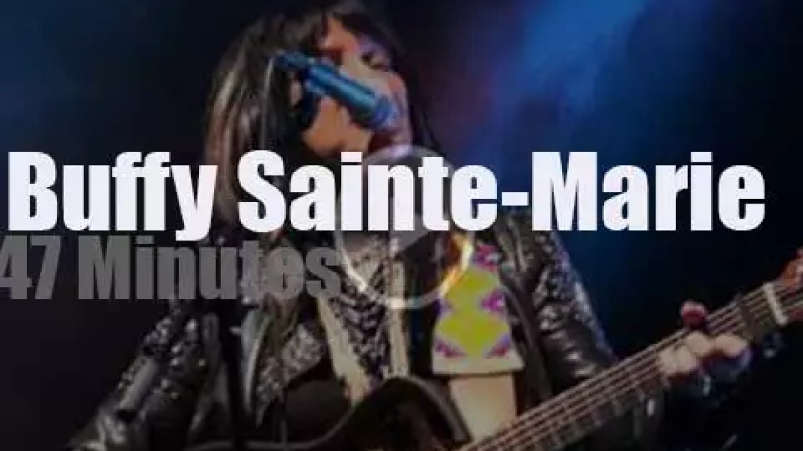 Buffy Sainte-Marie  travels to Denmark (2011)