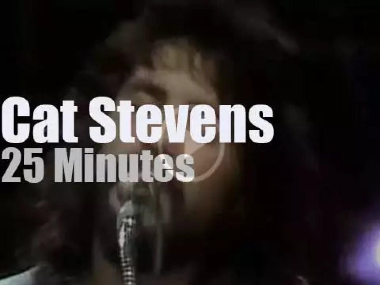 Californian Public Television tapes Cat Stevens in LA (1971)