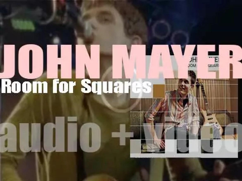 Columbia release John Mayer's debut album : 'Room for Squares' (2001)