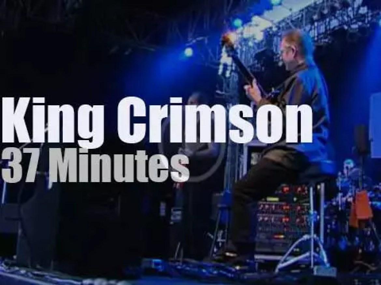 King Crimson travel to Germany (2000)