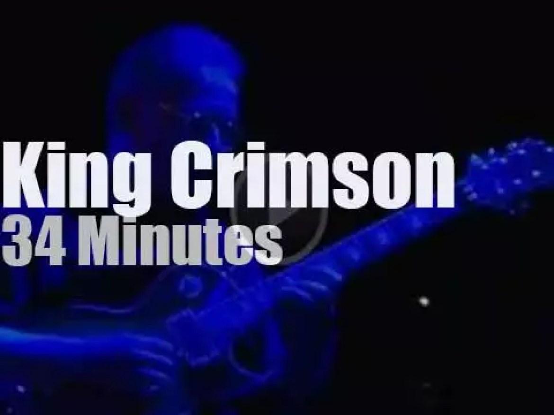 King Crimson travel to Switzerland (2000)