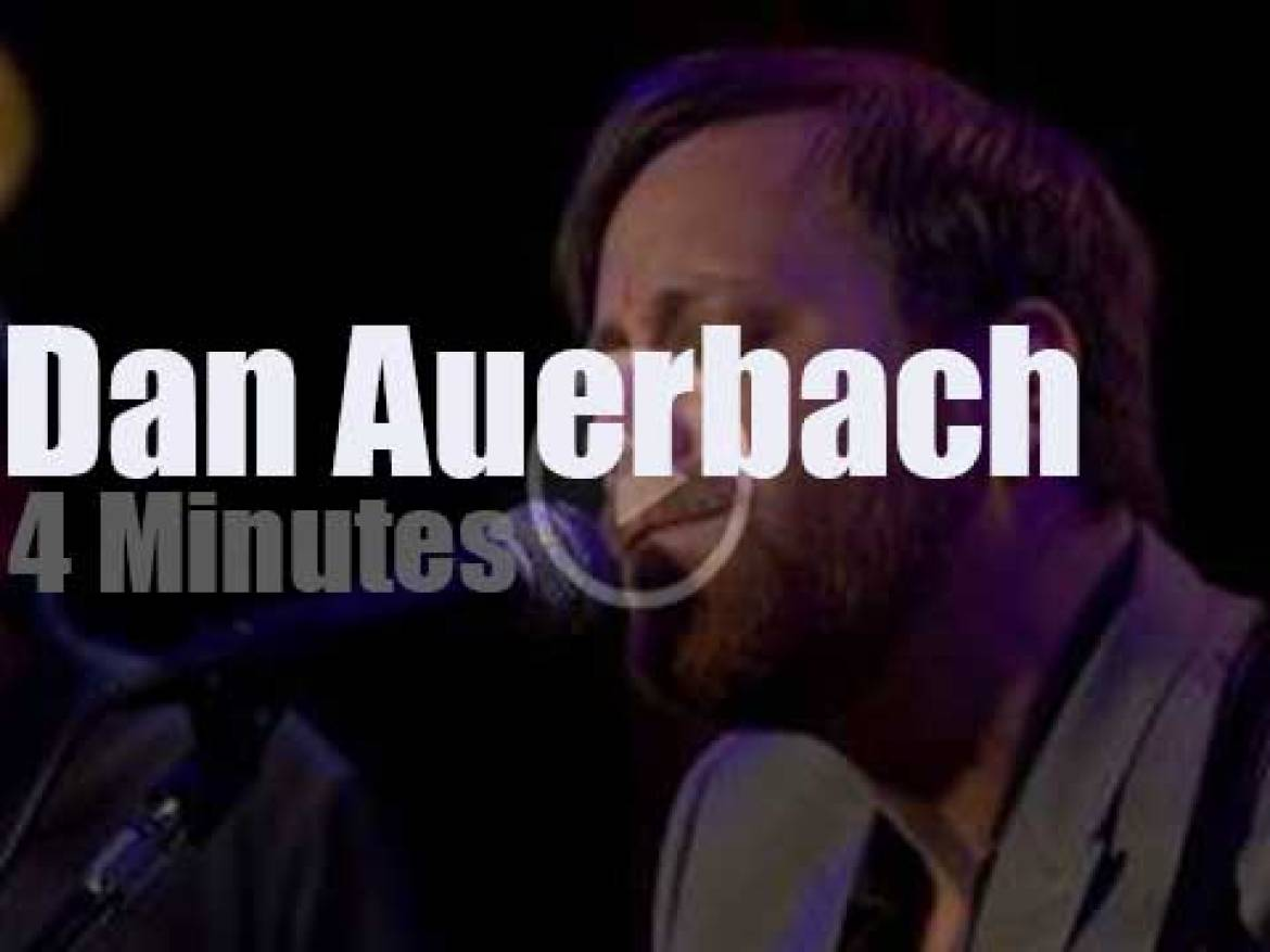 On TV today, Dan Auerbach with Charlie Rose (2017)