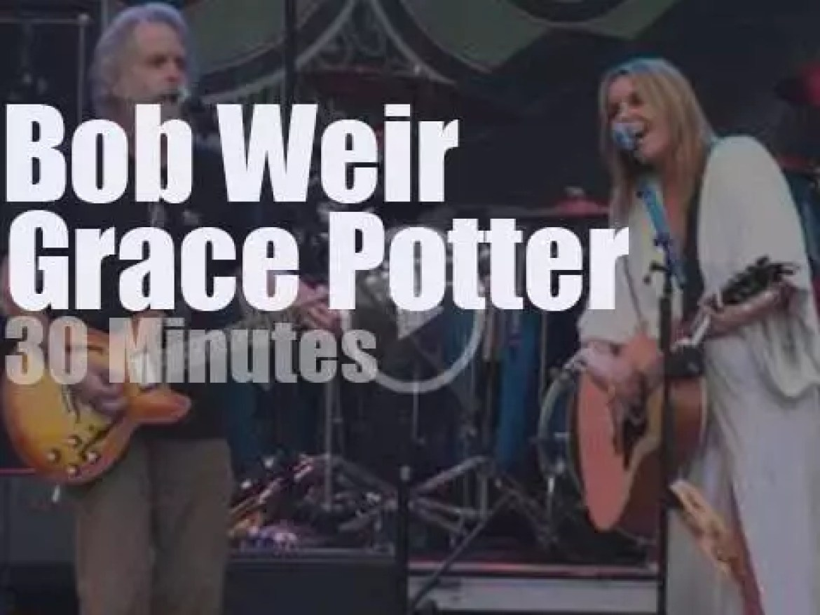 Bob Weir sits in with Grace Potter (2013)