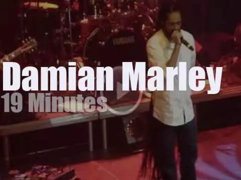 Damian Marley rocks Amsterdam (2012)