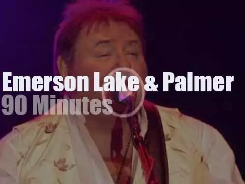 Emerson, Lake & Palmer meet for a '40th Anniversary Reunion' (2010)