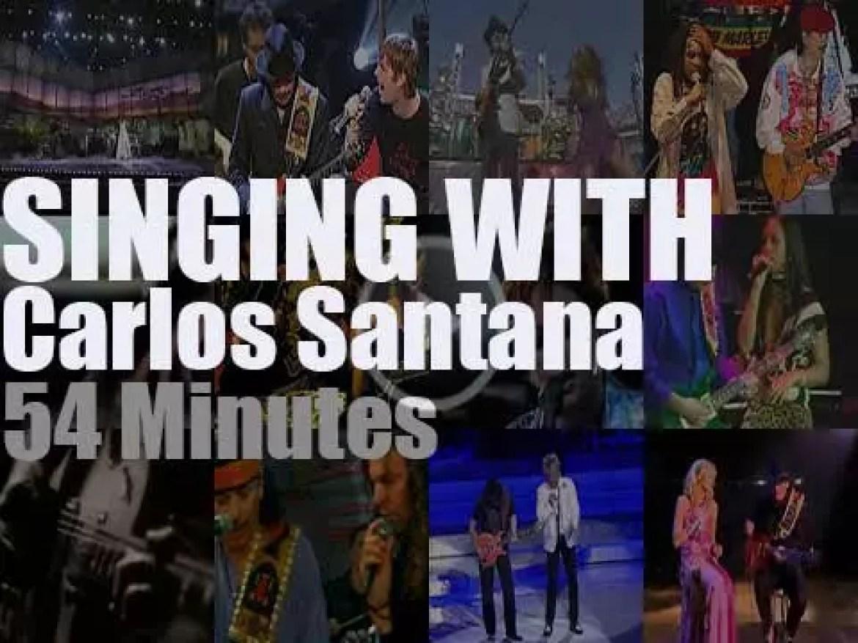 Singing With Carlos Santana