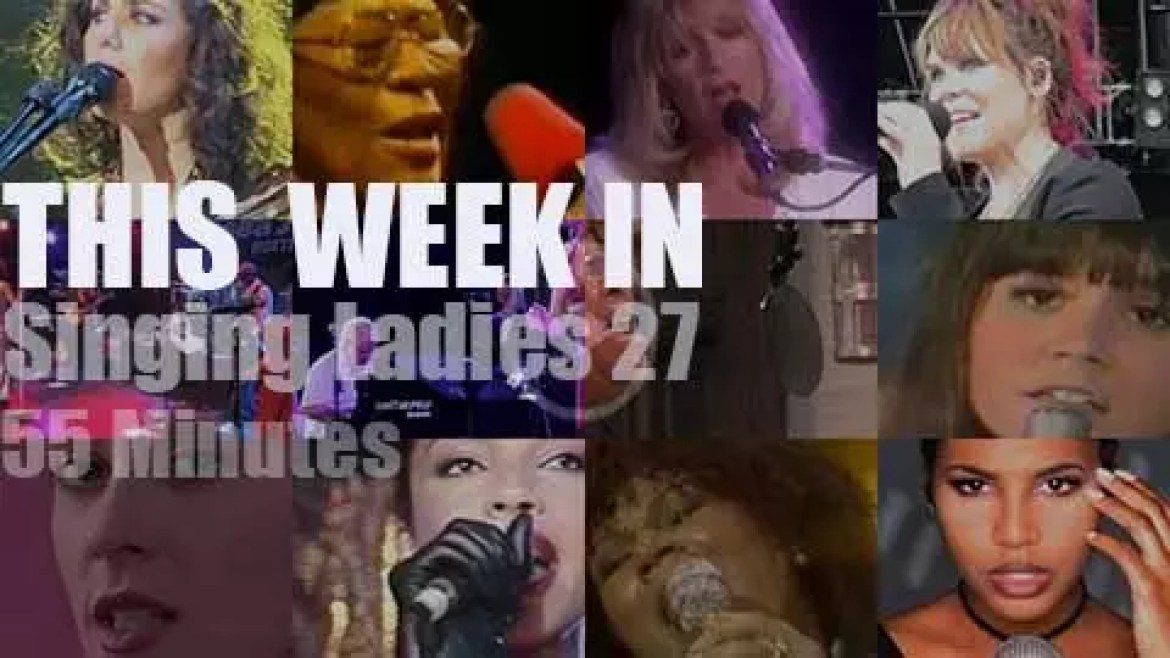 This week In Singing Ladies 27