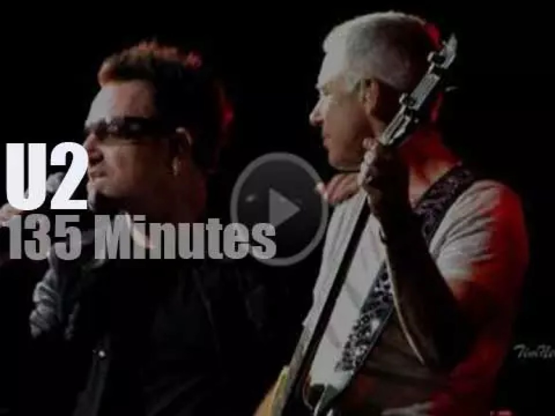U2 scorch St. Louis (2011)