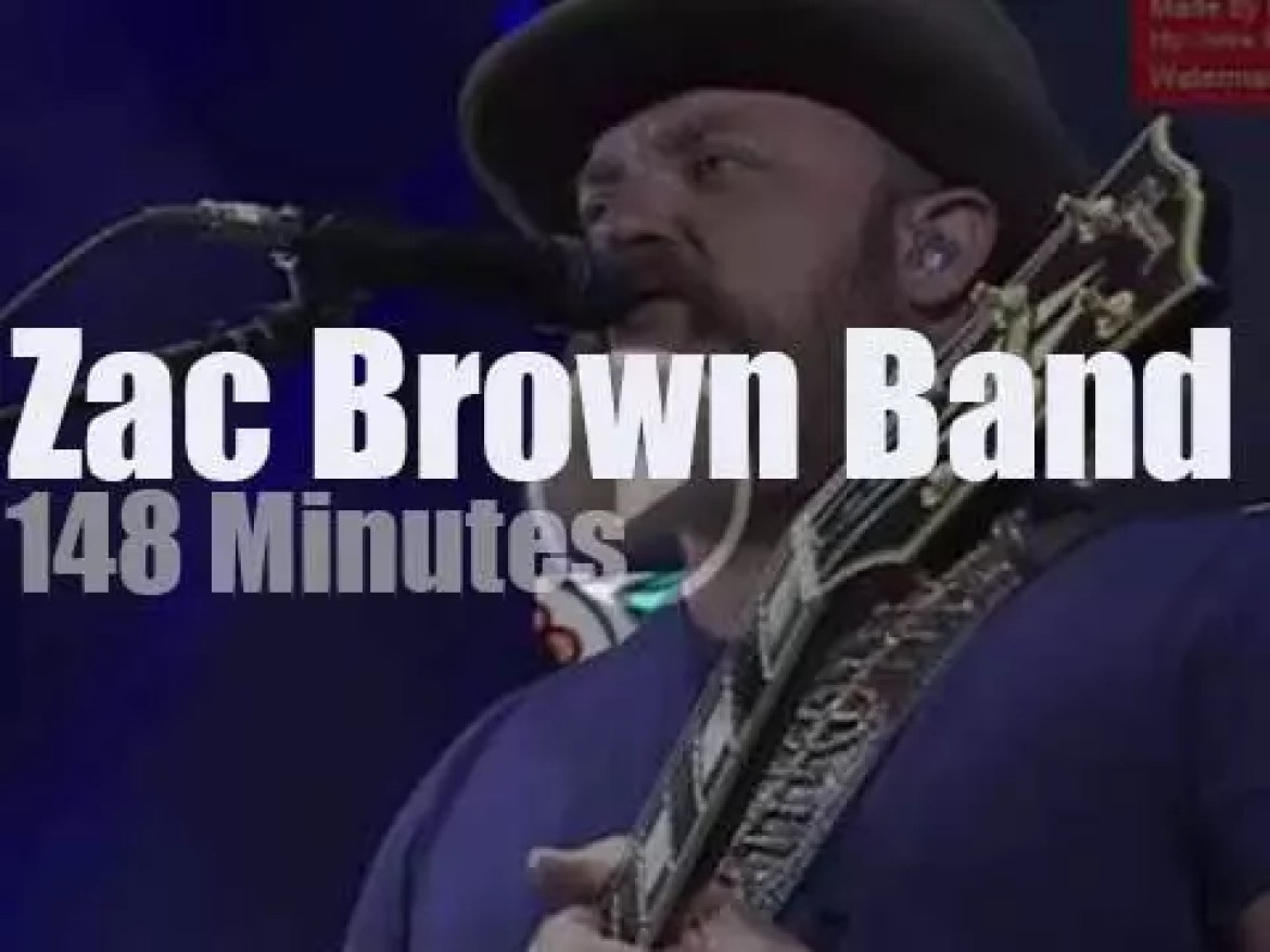Zac Brown Band travels to Colorado (2017)